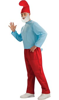 Papa Smurf Adult Costume (X-Large)