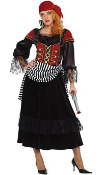 Treasure Pirate Wench Adult Costume (Medium)