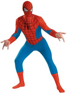 Spiderman Deluxe Adult Plus Costume