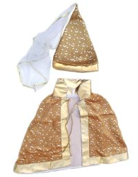 Princess - Wizard Mini Hat- Gold