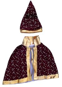 Wizard Baby/Toddler Costume - Burgundy