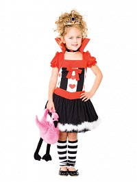 Queen of Hearts Child Costume Toddler (2-3yo)