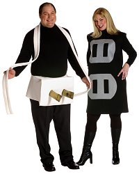 Plug & Socket Plus Couples Costumes