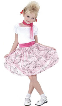 50's Hop Girl - Child Costume Small (3-4yo)
