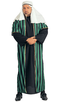 Arab Sheik Full Cut Adult Costume (Plus Size)