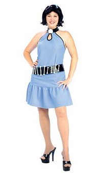 Betty Rubble Full Cut Adult Costume The Flintstones