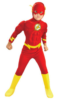 The Flash Muscle Chest Child Costume
