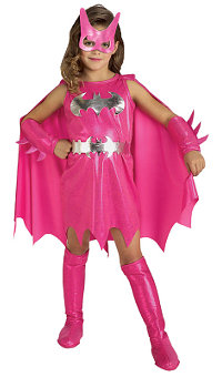 Batgirl Pink Child Costume Toddler (1-2yo)