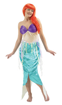 Ariel Mermaid Adult Costume