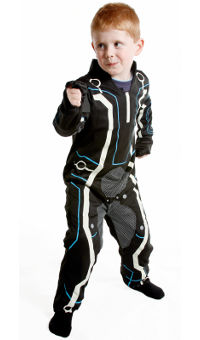 Tron Child Costume Medium (6-8yo)