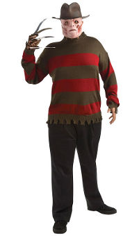Freddy Adult Sweater Plus Size