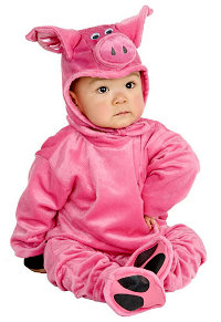 Piggy Baby Costume (6-12mths)
