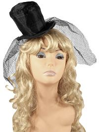 Mini Top Hat w/ Veil