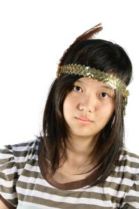 KoKo Headband Brown on Gold