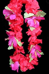 Tropic Express Festive Red Lei