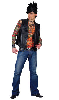 Tattoo Man Costume (Small/Medium)