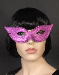 Cat's Eyemask Purple pinkish