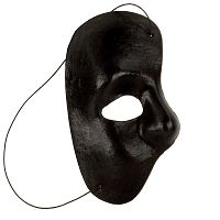 Black Phantom Fabric Mask
