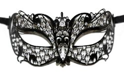 Brillina Strass Swarovski Metal Mask