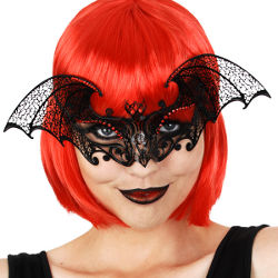 Blair Bat Metal Masquerade Mask