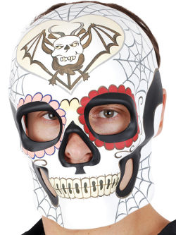 Day Of The Dead Cream Mask