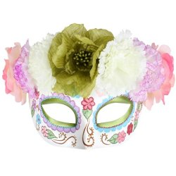 Frida Pastels Sugar Skull Mask