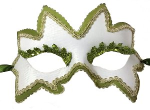 Maple Leaf Spirit Masquerade Mask
