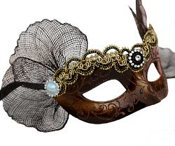 Maeve Brown Masquerade Mask