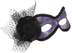 Amethyst Purple Mask