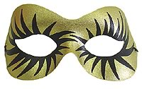 Elvira Mask - Gold