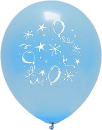 Party Style Blue Balloon 10-Pack