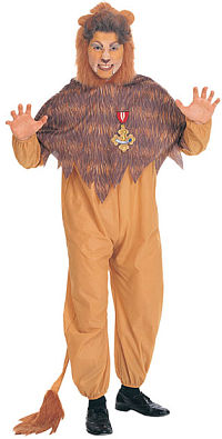 Cowardly Lion Adult Costume (Medium)