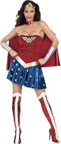 Secret Wishes Wonder Woman Adult Costume (Medium)