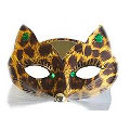 Alley Cat Mask - Brown