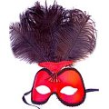 Showgirl Red Mask