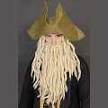 Captain Davy Jones Wig & Hat