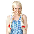 Inga Long Blonde Plaits Wig