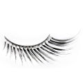 Black Sweeping Eyelashes w/ Silver Diamontes