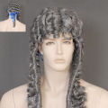 Grey Judge Wig